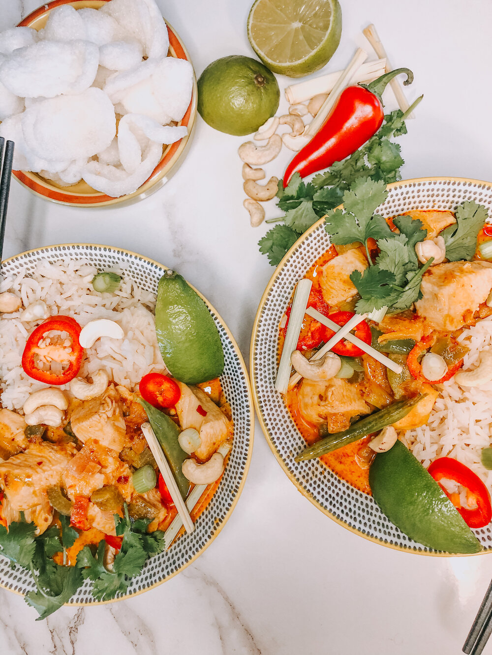 The most delicious red Thai curry!